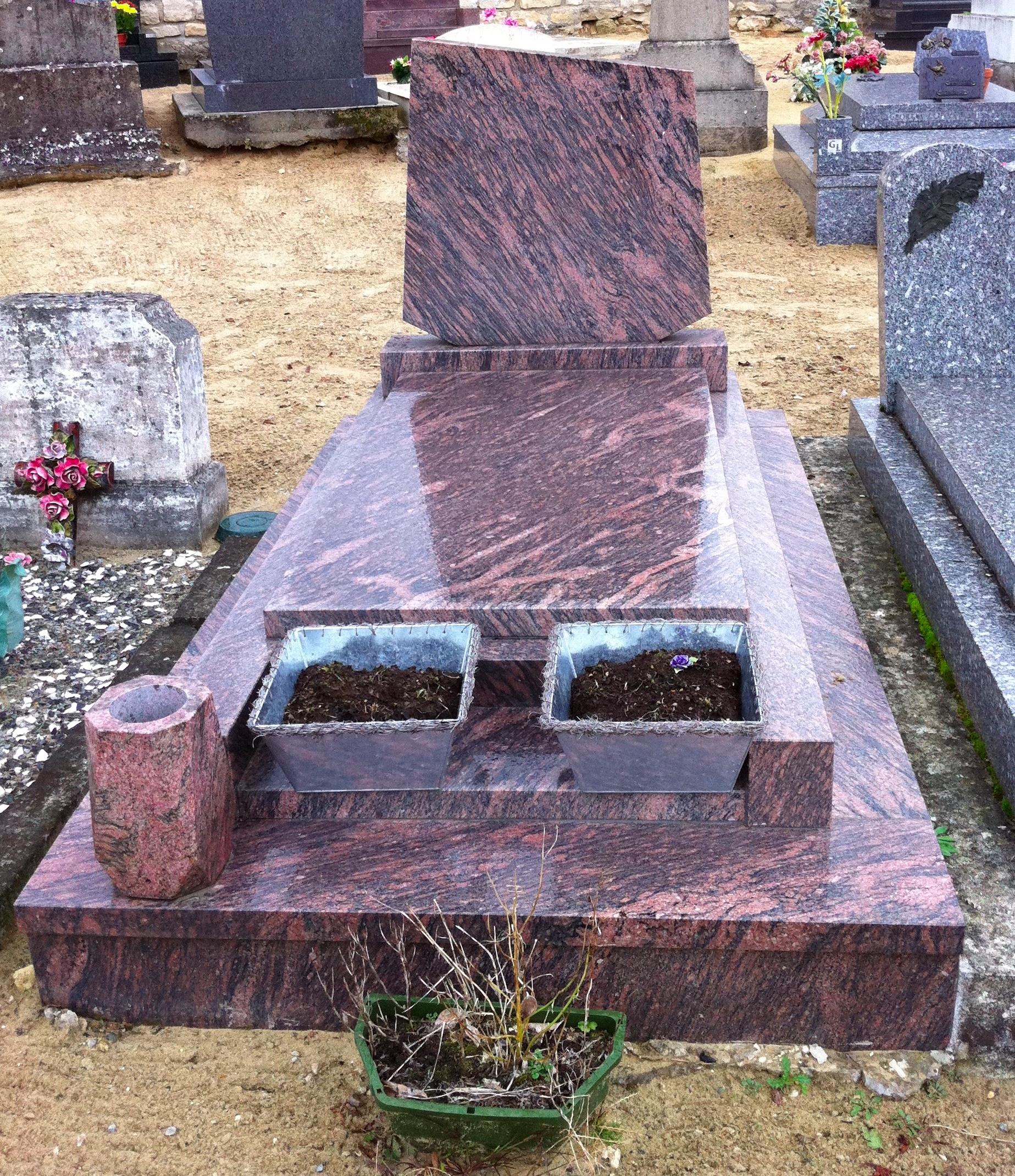 Livraison de fleurs cimetières, Entretien de tombe